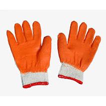 Găng tay phủ lớp cao su cam 60g