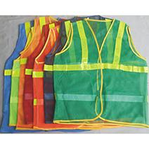 Áo ghile phản quang lưới